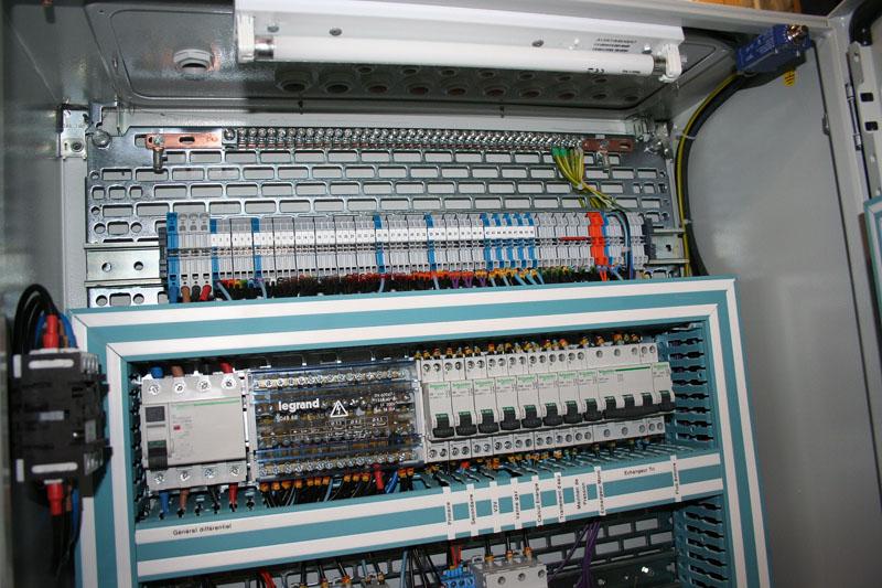 Lectricit industrielle ips international poly services - Voyant armoire electrique ...